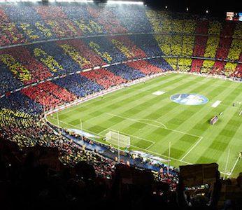 Montjuic and Camp Nou