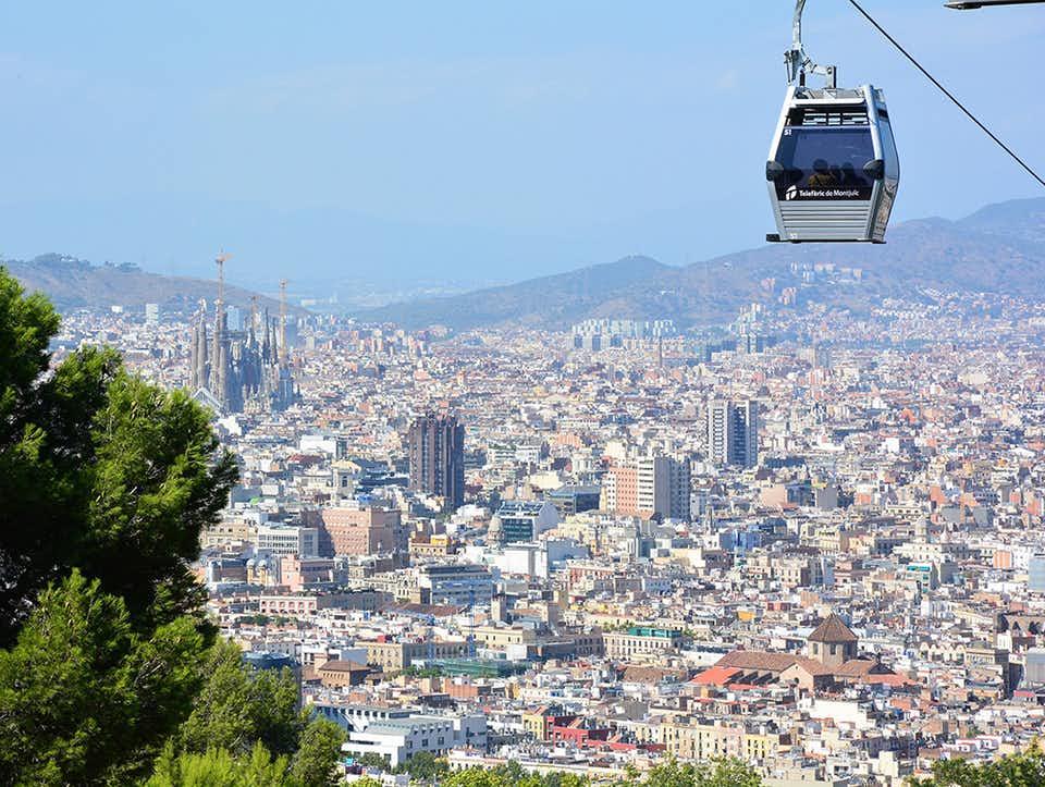 Terra Mare Aire 360 Barcelona Tour