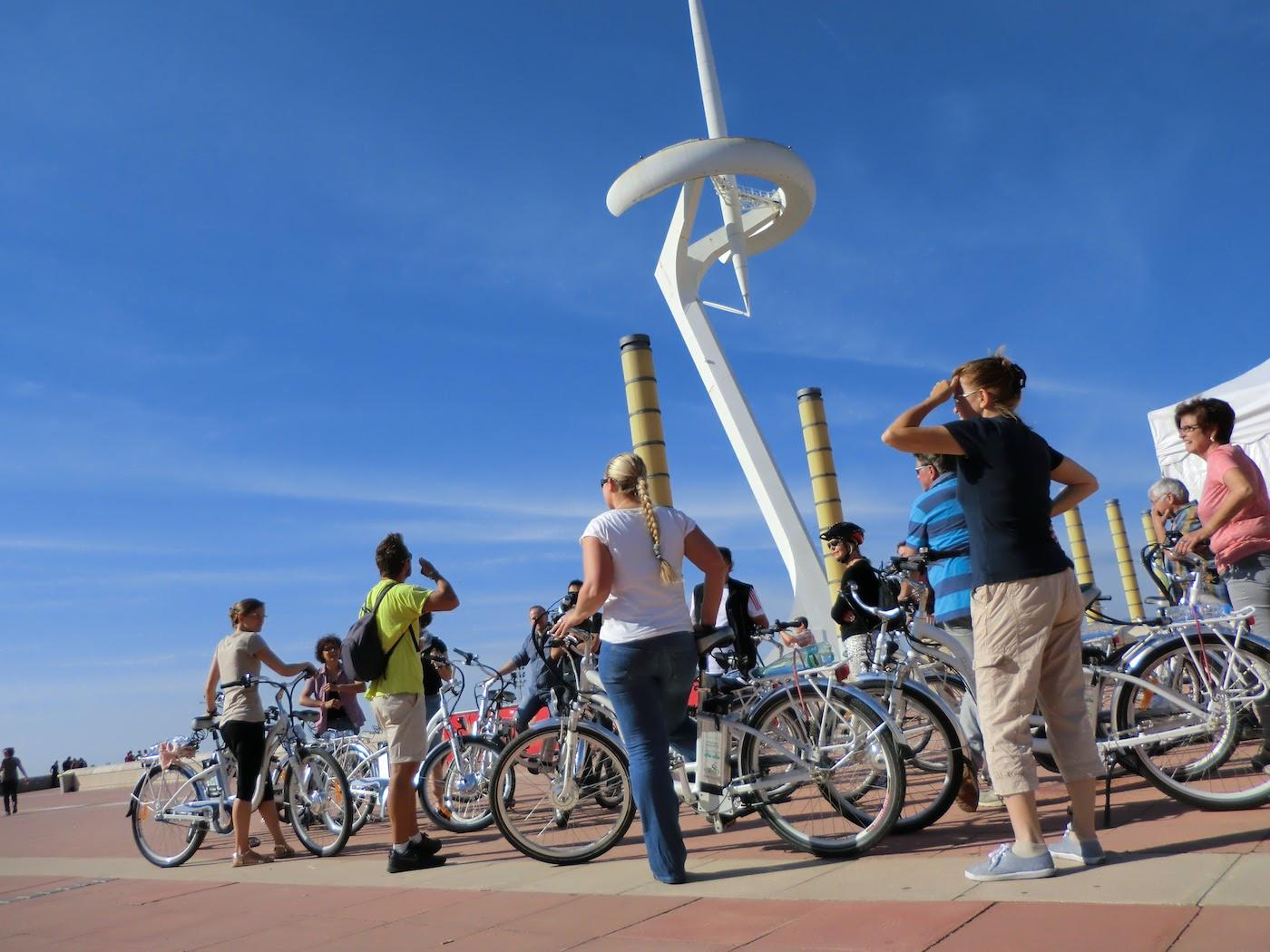 ebike tour Montjuic Barcelona Trip