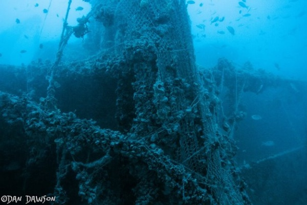 Queen of Nassau Ship Wreck in Key Largo, FL