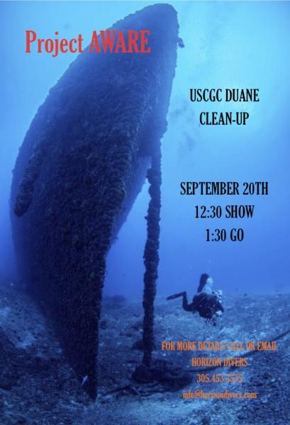 Horizon Divers Coastal Clean-up Project