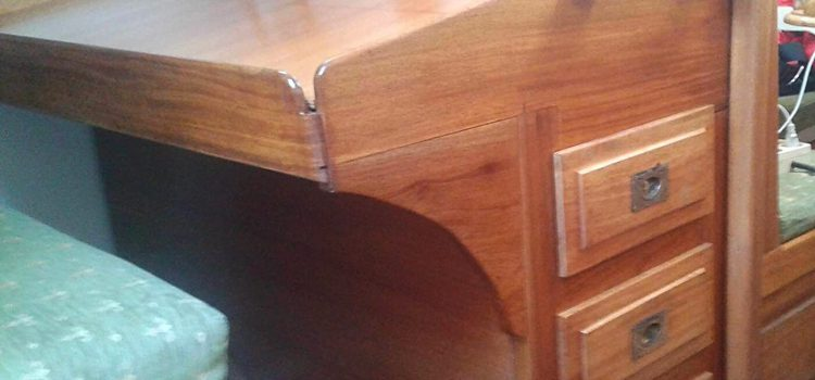 Restoring the Chart Table and other Furniture below deck — Sailing Trips Barcelona