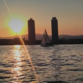 Barcelona Sunset Sailing Tours-6