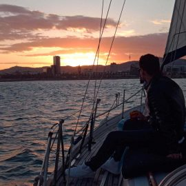 Barcelona Sunset Sailing Tours-9