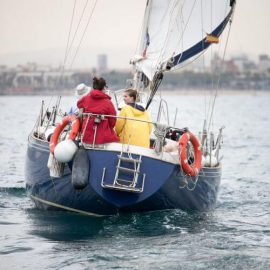 Sailing Barcelona Rival 38 Boat - Tours and Charters-12